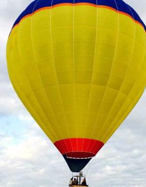 Havasu Balloon Festival Pilot and Balloon